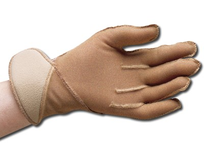 Jobskin Compression Gloves m/velcro alm.