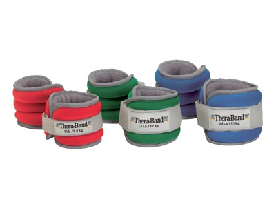 TheraBand Comfort Fit Ankle & Wrist Sets