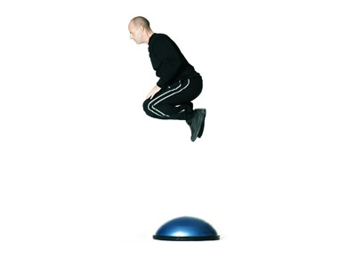 BOSU balance træner - (Both side Up) den originale!