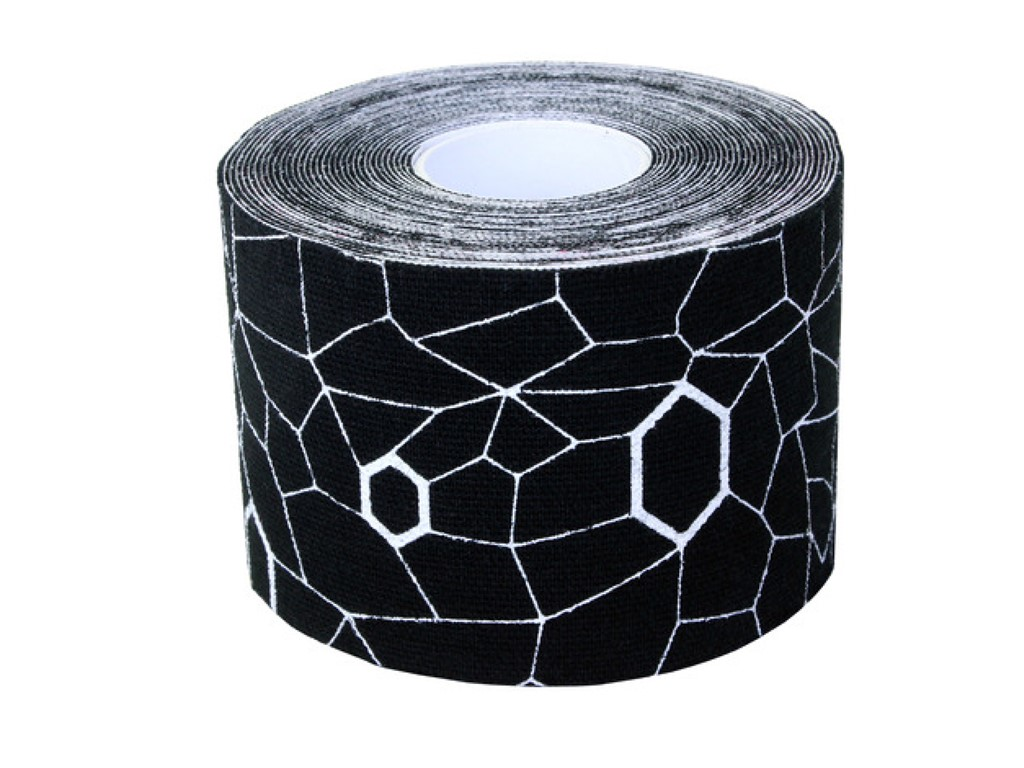 Thera Band Kinesiology tape sort/hvid 5m