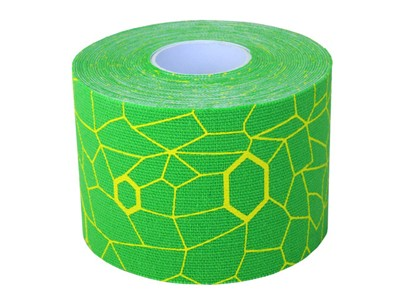 Thera Band Kinesiology tape grøn/gul 5 m
