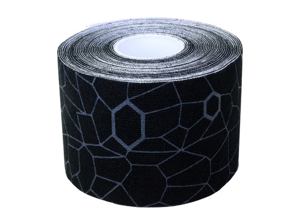 TheraBand Kinesiology tape sort/grå ca. 25 cm (20)