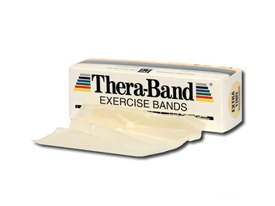 Thera-Band Elastik 5,5 m Beige