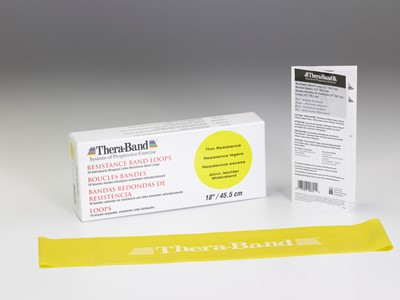 Thera-Band Loops 7,5-45,5 cm Gul