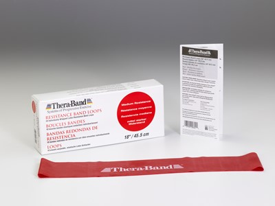 Thera-Band Loops 7,5-45,5 cm Rød