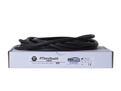 Thera-Band Tubing 7,5m Sort