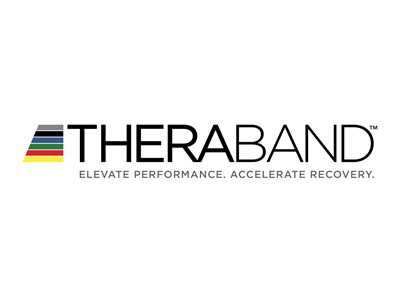 TheraBand Body Trainer blå over mid.