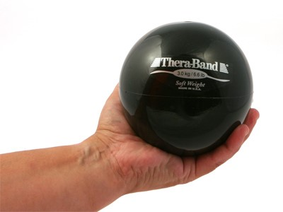 Thera-Band SoftWeight 3,0 KG Sort