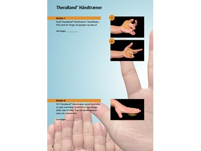 Thera Band Hand Exerciser Grøn