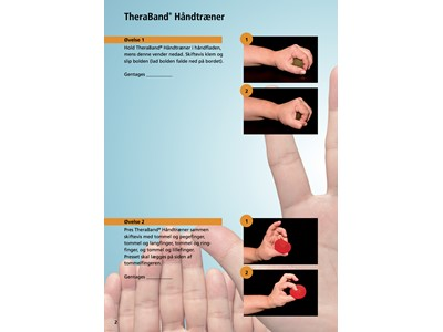 TB Hand Exerciser Blå XL