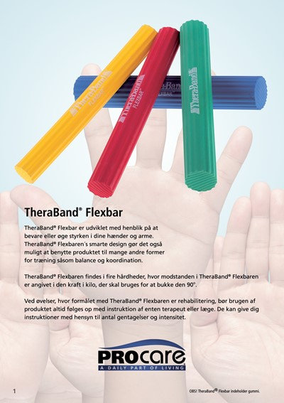 Thera-Band FlexBar let Rød