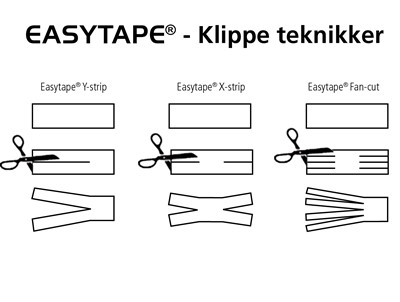 Easytape 5cm x 4,5 m White - NYHED