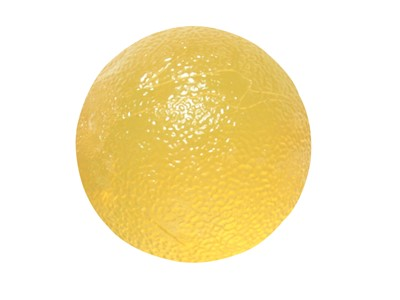 CanDo Hand Exercise Ball Yellow (2:6)