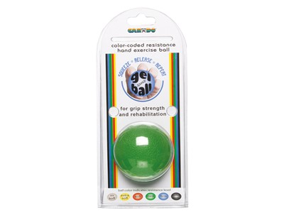 CanDo Hand Exercise Ball Green (4:6)