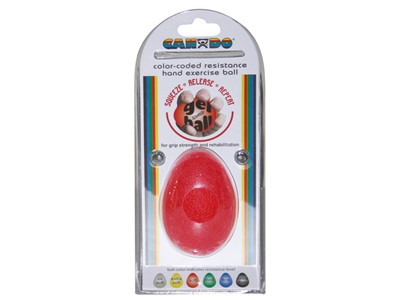 CanDo Hand Exercise Ball XL Red (3:6)