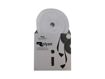 "Rolyan Stretch Loop White 1"" x 10 yd"