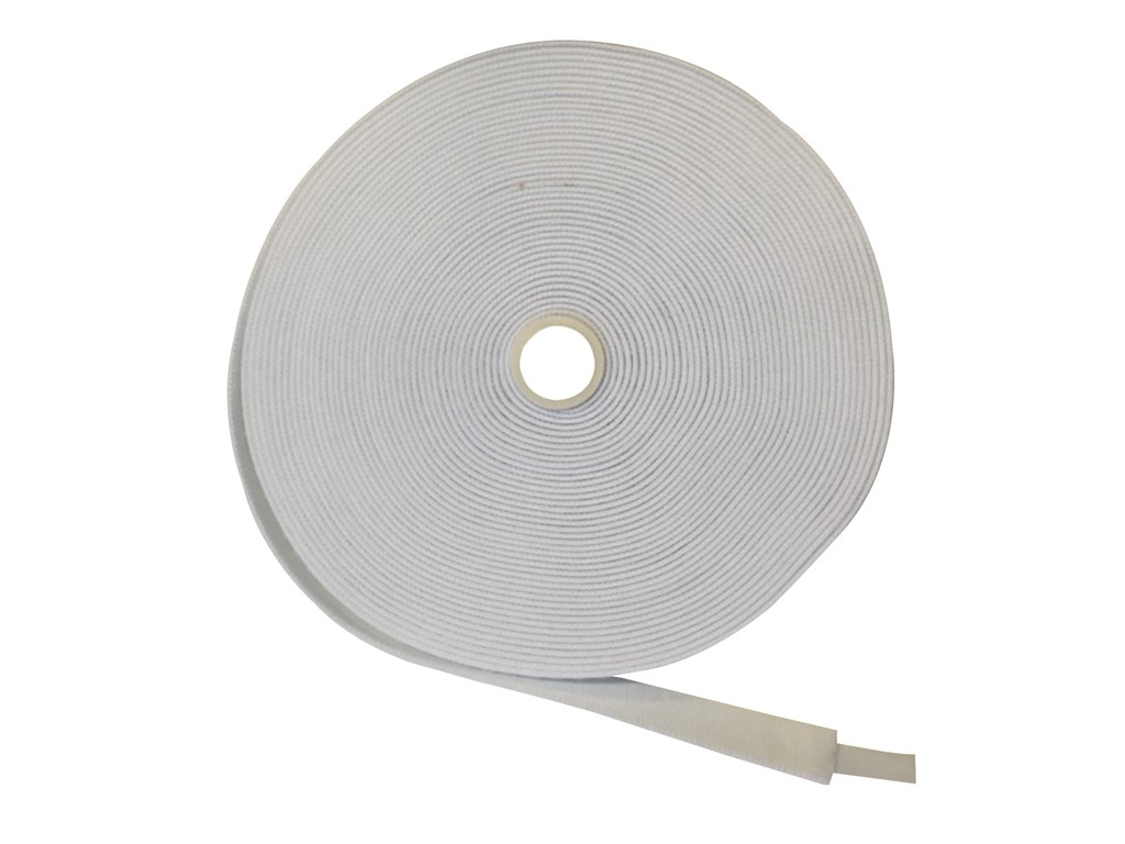 "Stretch Loop White 1"" x 25 yd"