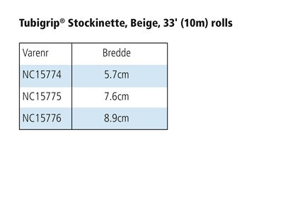 Heavy Duty Stockinette 7,6 cm x 23 m