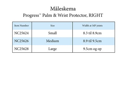 Progress Palm & Wrist Protector RS