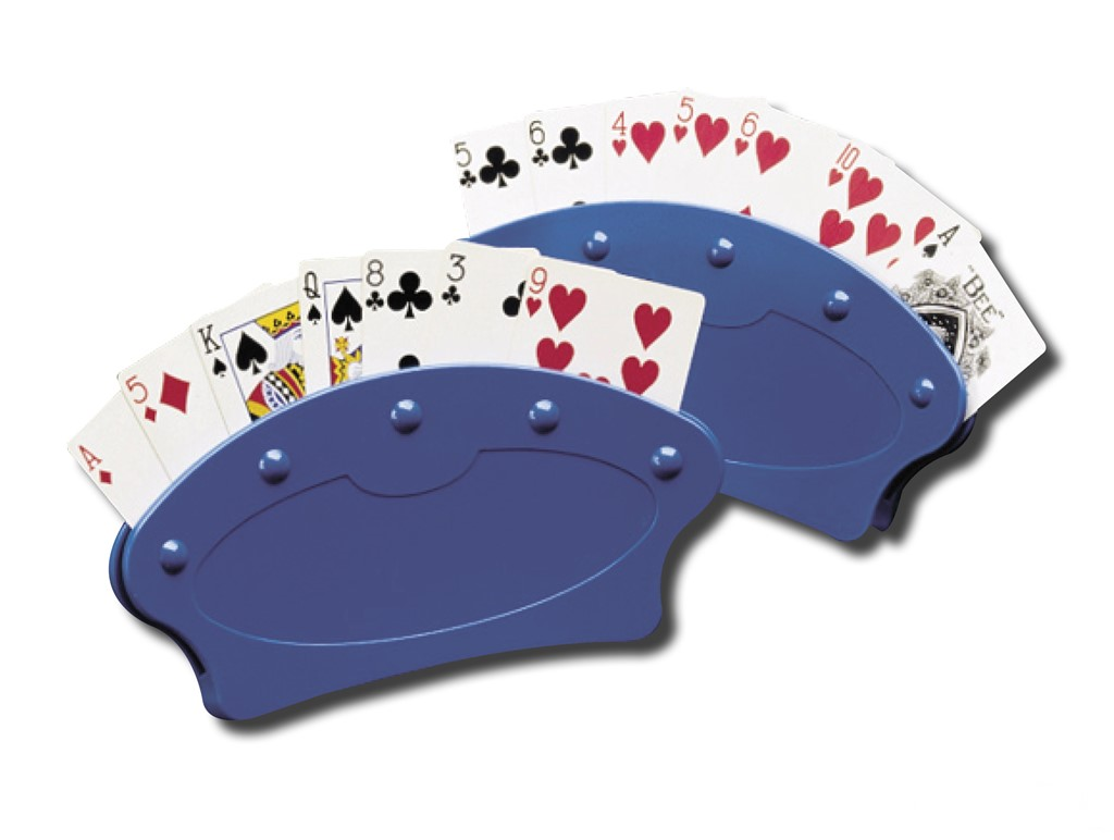Playing Card Holders (Pair)