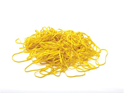 Colored rubber bands 3,2 mm yellow