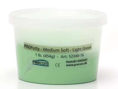Putty Medium Soft Light Green 1 lb
