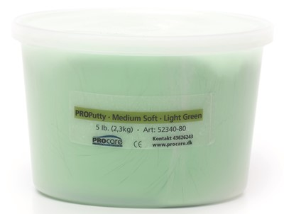 Putty Medium Soft Light Green 5 lb
