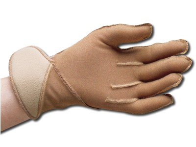 Jobskin Glove m/Velcro L Regular