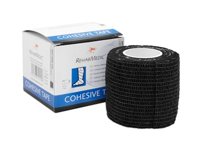 Cohesive Tape 5cm x4,6m Black (1)