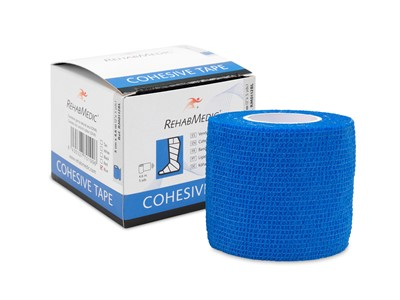 Cohesive Tape 5cm x4,6m Blue (1)