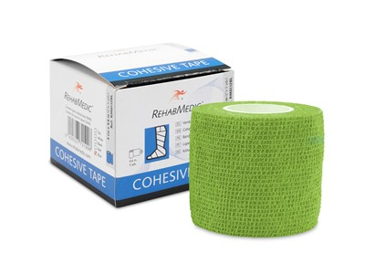 Cohesive Tape 5cm x4,6m Green (1)