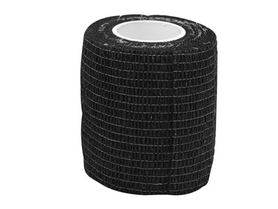 Cohesive Tape 7,5cm x4,6m Black (1)