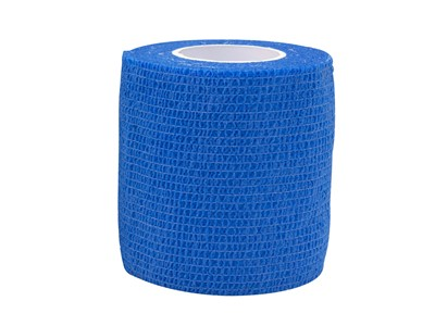 Cohesive Tape 7,5cm x4,6m Blue (1)