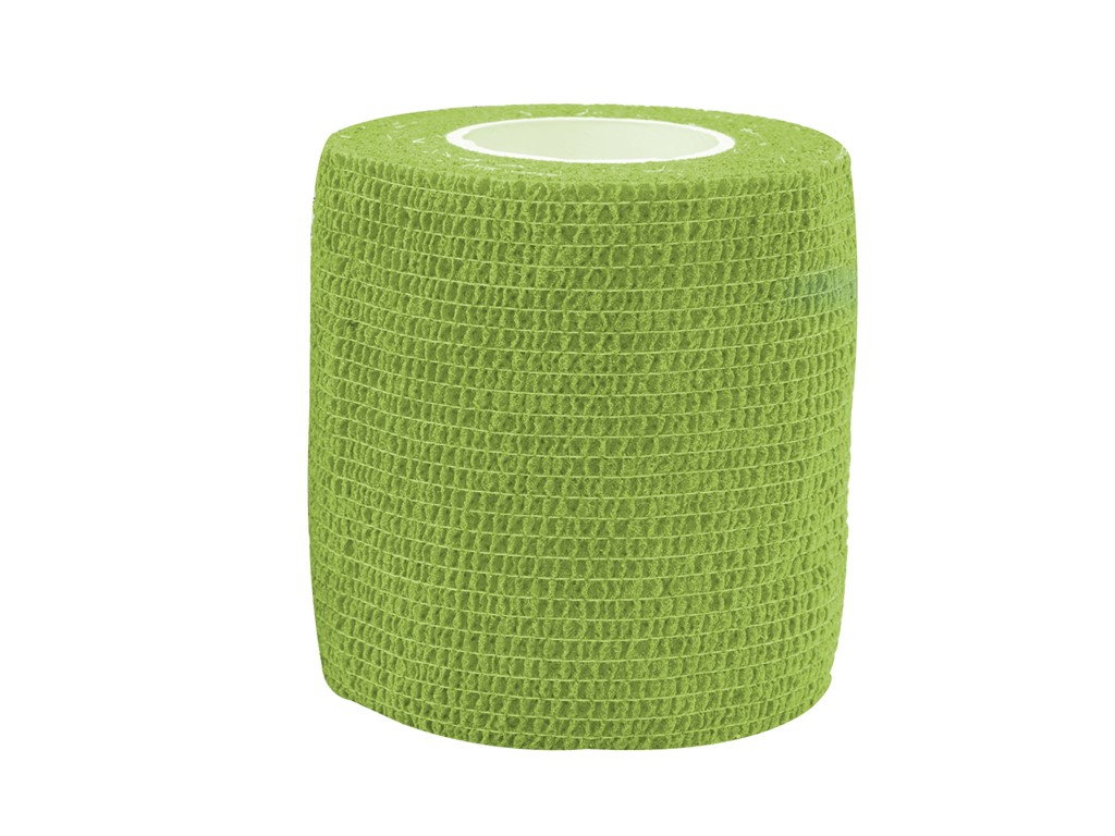 Cohesive Tape 7,5cm x4,6m Green (1)