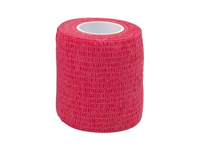 Cohesive Tape 7,5cm x4,6m Red (1)