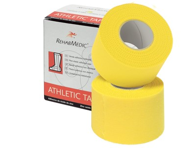 Non-Elastic Adh.Tape 3.8cmx10m Yellow(2)